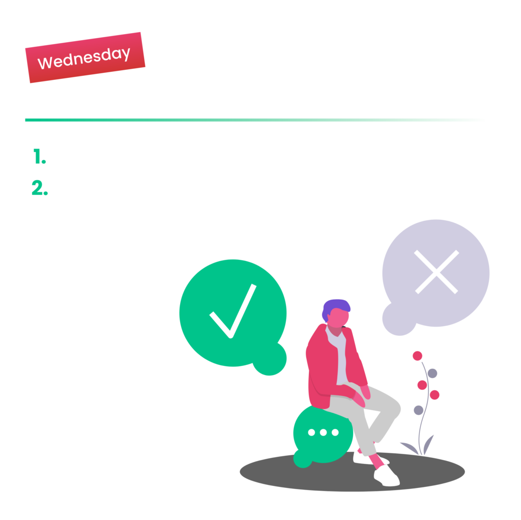 Day 3 Wednesday Make Decisions and Storyboard